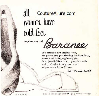 vintage slippers, Baranee