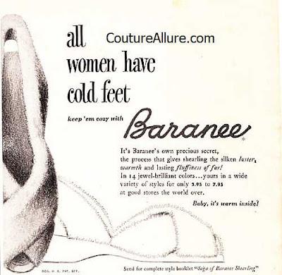 vintage slippers, Baranee