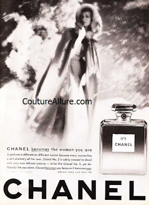 vintage chanel 5 perfume