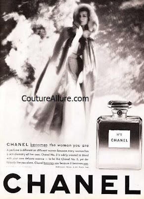 vintage chanel 5 perfume