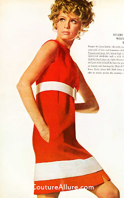kasper for joan leslie dress, 1967