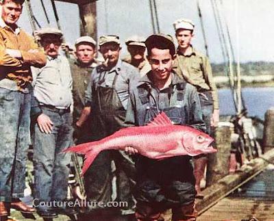 1931, fishermen, denim, great depression