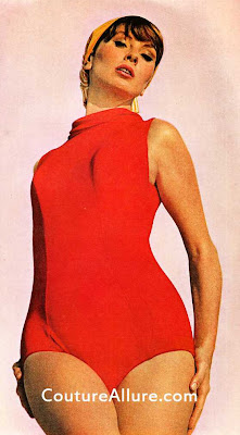 1964, maidenform swimsuit, suzy parker