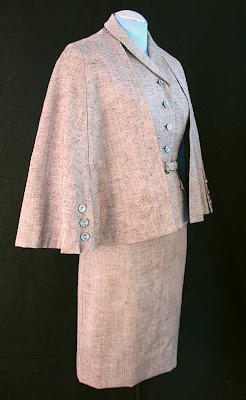 1950's, rothmoor suit with cape