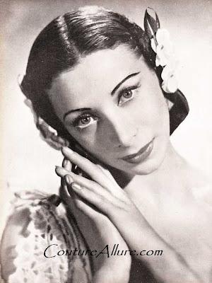 nora kaye, 1945