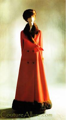 valentino, haute couture, coat, 1969