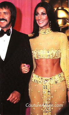 cher, oscar dress, 1972