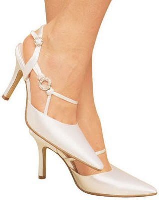 rose bridal shoes - 2010 Gelin ayakkab� modelleri