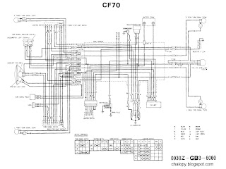 draadboomcf70c wiring diagrams chalopy honda c100 wiring diagram at gsmx.co