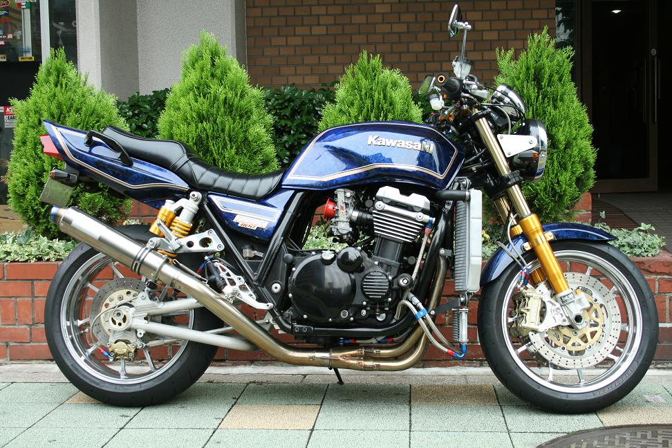 Planet Japan Blog: Kawasaki ZRX 1100 by Moon Field #1