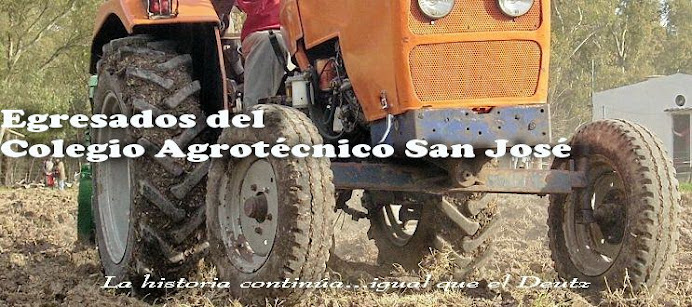 Egresados y ex alumnos del COLEGIO AGROTÉCNICO SAN JOSÉ, San Vicente - Bs. As. - Argentina
