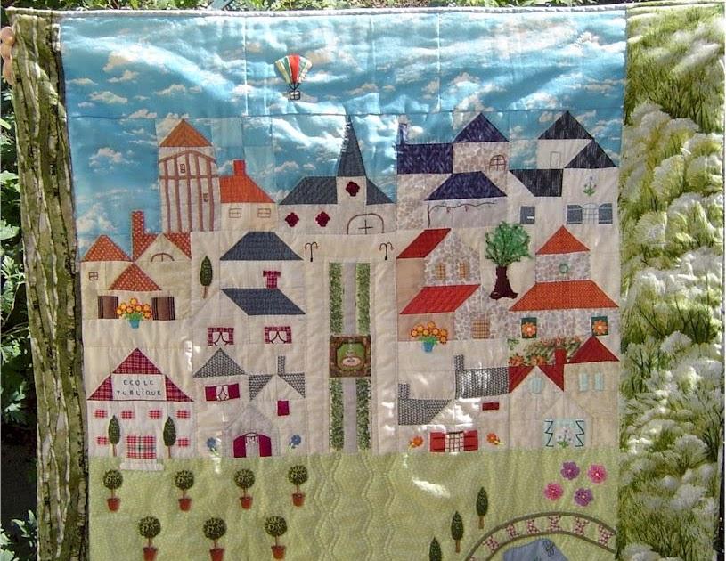 Casita del patchwork patchwork villa francesa - La casita del patchwork ...