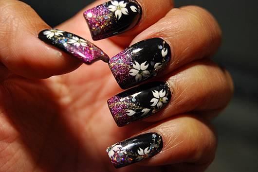 Creative Black Decorative Nail Art Stunning Decorative Nail Art Designs