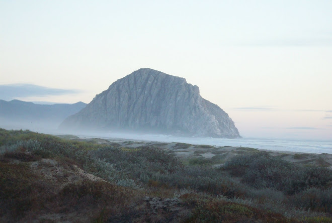 Morro Rock in the Mist