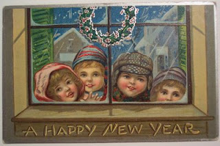 New Year's Vintage Postcards