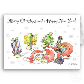 Merry Christmas New Year Card