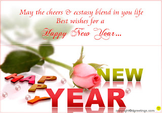 New Year Floral Wishes