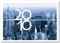 New York 2010 New Year Card