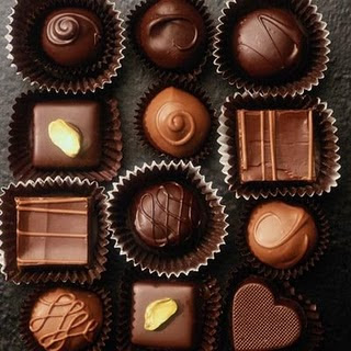 Chocolated to wish happy new year