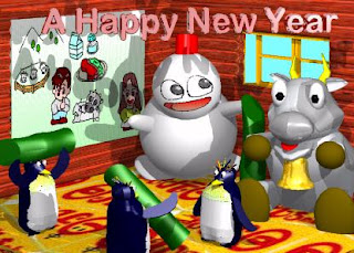 3d New Year Cards
