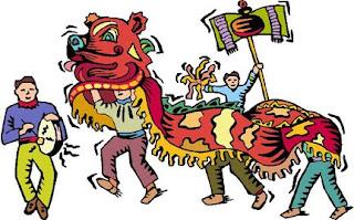 chinese new year dragon fun