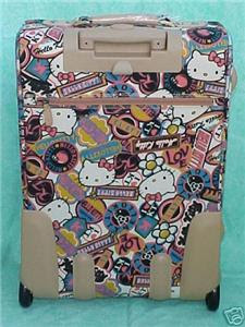HELLO KITTY LUGGAGE SUITCASE
