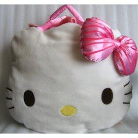 Hello Kitty Plush Purse with Throw