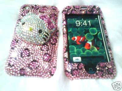 Hence, the Hello Kity iPhone Swarovski Case is very seamless and have no