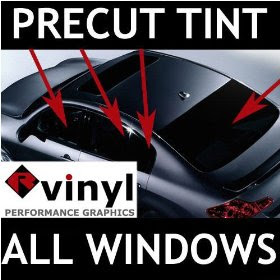 Driver choice honda accord sedan 2003 2007 complete window tint precut tints are a cost effective way for the do it yourself installer to save time and money by taking the guess work out of the window tint installation solutioingenieria Images
