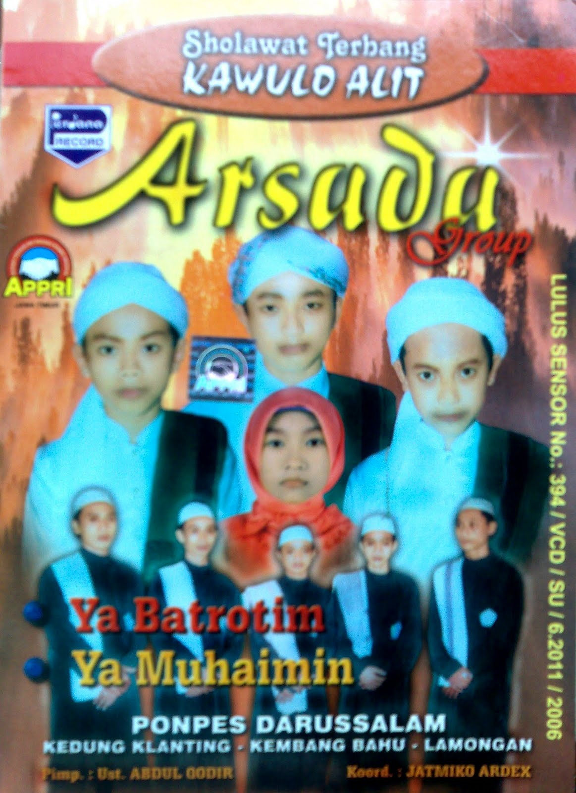 Album Ya Badrotim (Perdana) - Arsada Group