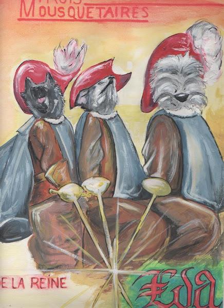 Les 3 mousquetaires