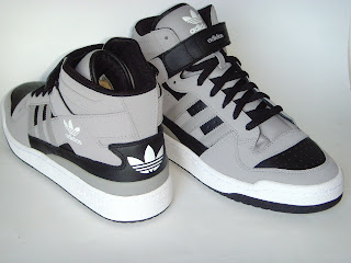 size 40 82604 e35e2 ... sale adidas forum mid de cuero negra gris talles usa 7 1 2 8 10 us