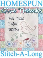 "Homespun ""Give Thanks"" SAL"