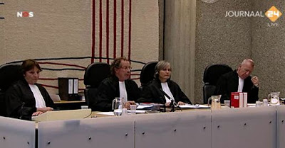 Wrakings kamer in Wilders trial