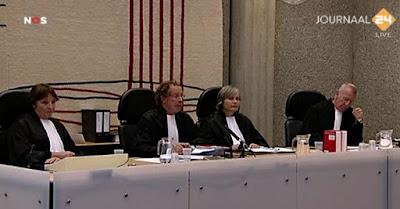 Wrakings kamer in Wilders trial