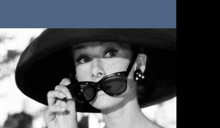 Audrey Hepburn Breakfast At Tiffanys Sunglasses on vintage sungl