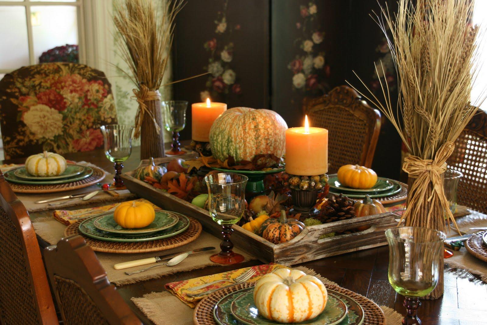 Vignette Design An Autumn Tablescape