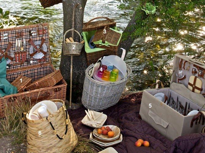 vignette design romantic picnic ideas. Black Bedroom Furniture Sets. Home Design Ideas