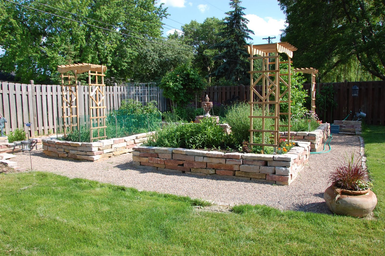 Vignette Design Bucket List 3 A Beautiful Raised Bed Vegetable Garden
