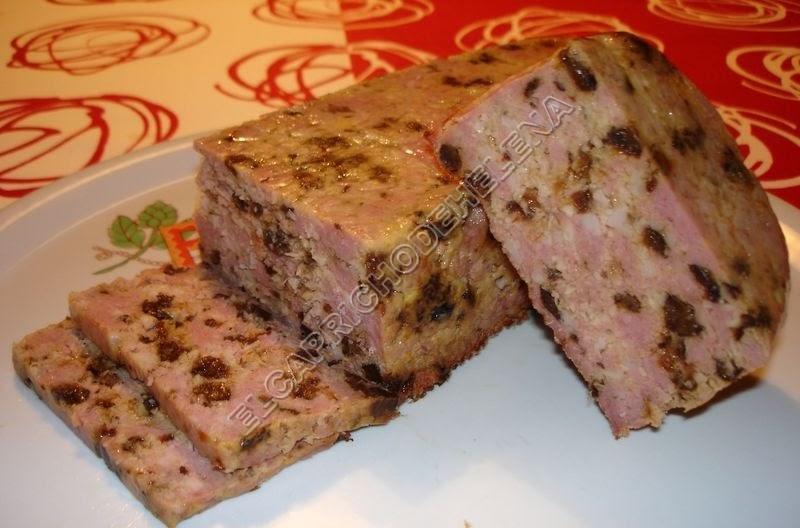 El capricho de helena fiambre de pavo y ciruelas pasas - Carne con ciruelas pasas ...
