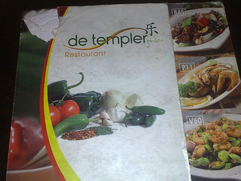 DINNER @ de templer