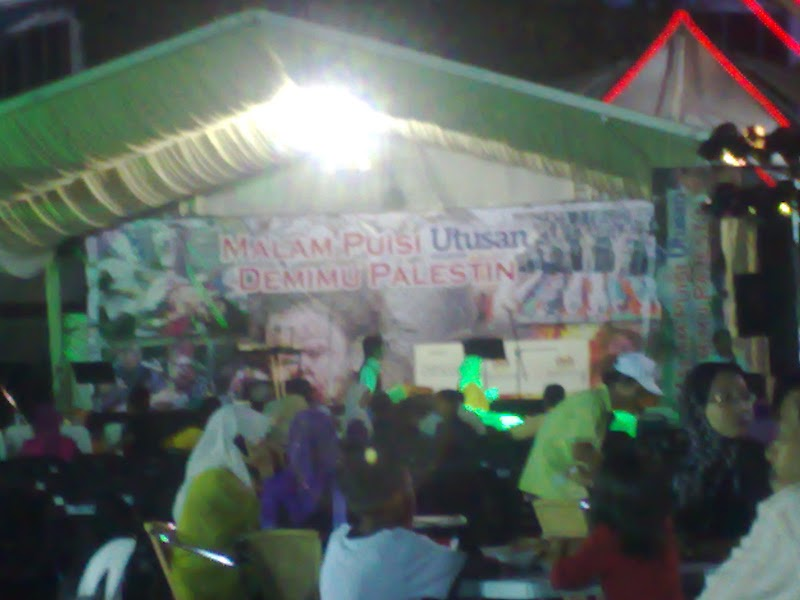Malam Puisi Keranamu Palestine