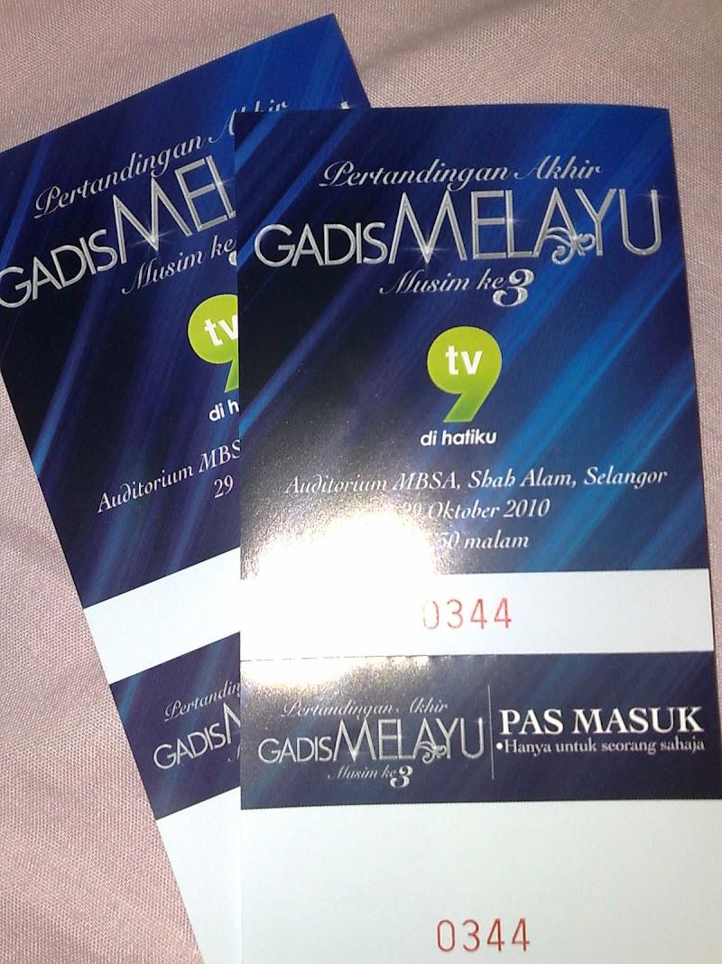 Mukadimah: Final Gadis Melayu