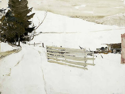 andrew wyeth  not plowed