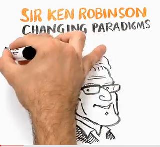 sketch of Ken Robinson