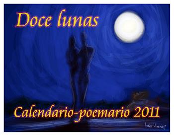 CALENDARIO POEMARIO 2011 DOCE LUNAS