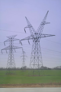 Electric Towers in Texas