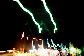 Long Exposure Photo of Stop Lights