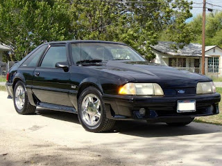 1987 Ford Mustang 5.0 Black Fox-Body Mustang