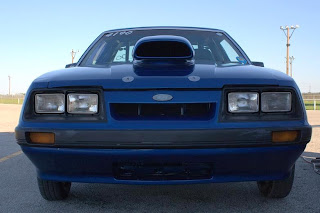 Front View 1986 Ford Mustang GT